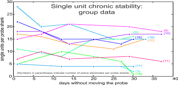Group data: long-term chronic stability